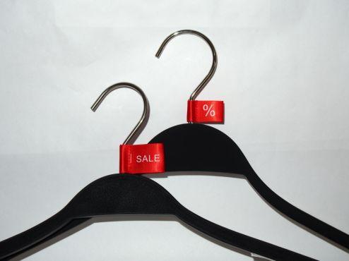 Verkaufsföderung für Kleiderbügel