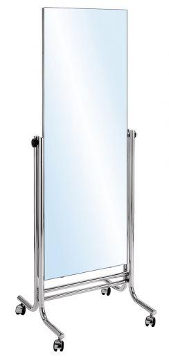 Konfektionsspiegel, Rollspiegel mit extra großer Spiegelfläche