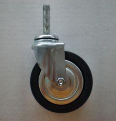 Lenkrolle 80mm mit Gewindebolzen