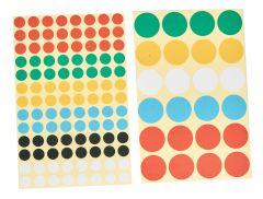 Markierungspunkte Ø 8mm farbig gemischt