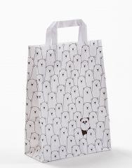 Papiertragetasche 22+10x31cm wo ist der Panda